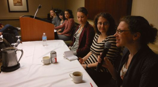 literary agents on a panel