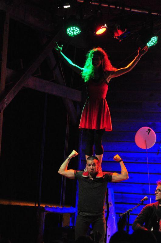 Ben Sollee dancer