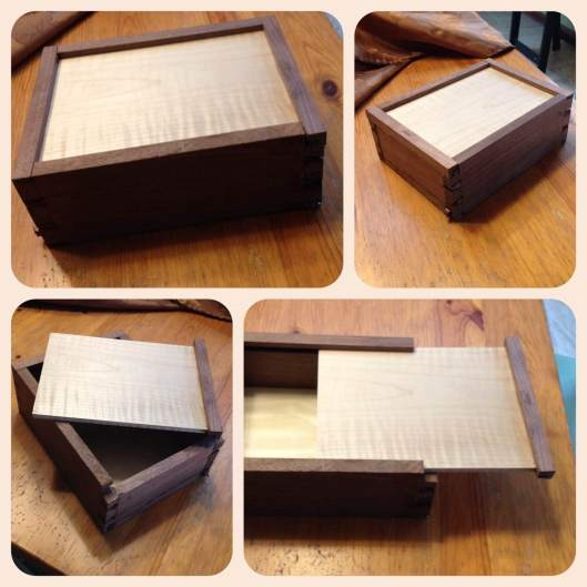 dovetailed memento box