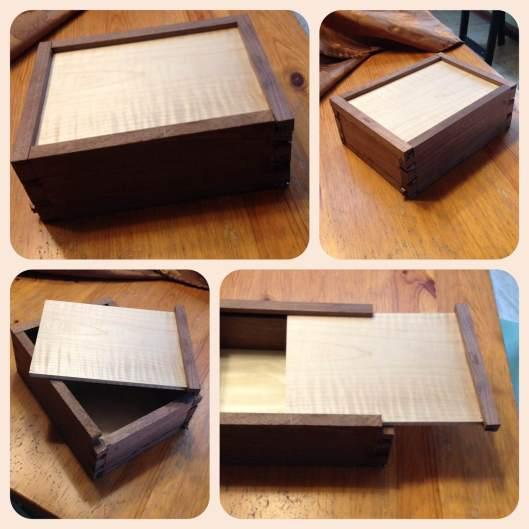 dovetailed memento box