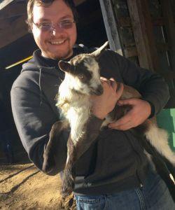 celebrity dairy baby goat