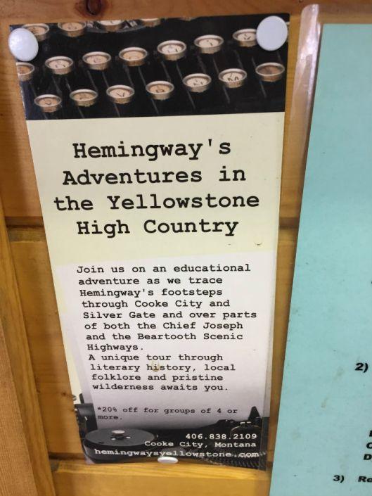 hemingway yellowstone