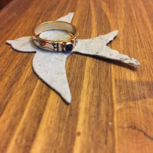feather spirit ring