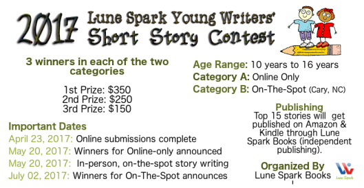 writing contest info