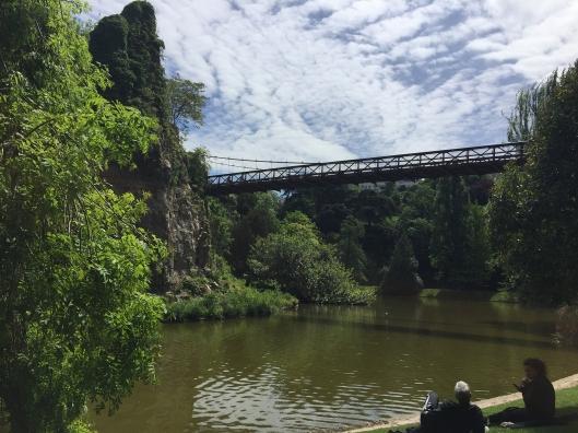 Parc des Buttes Chaumont Bridge