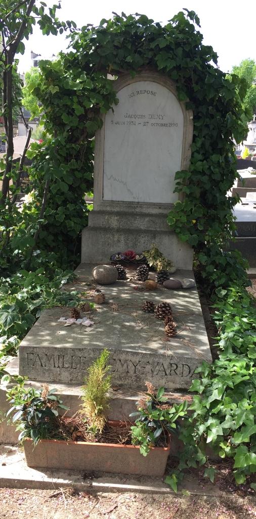 Jacques Demy's grave