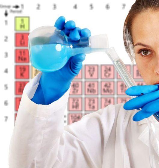 female chemist