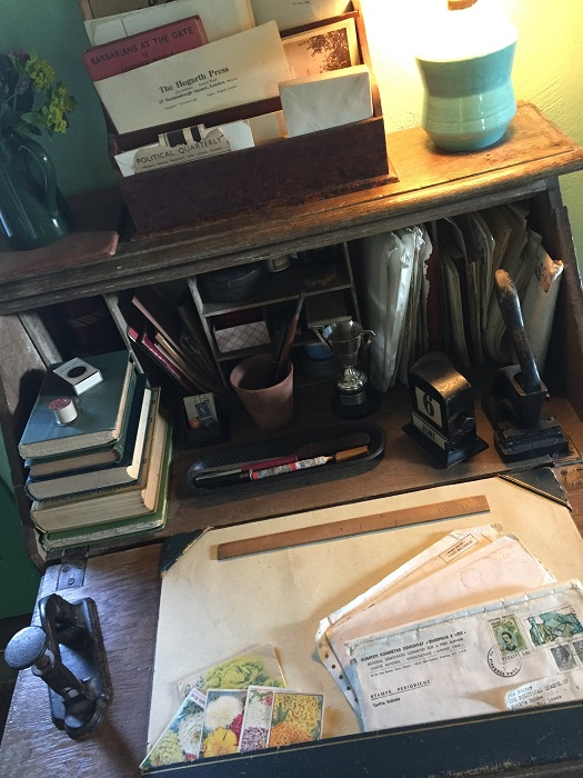 Leonard Woolf's desk