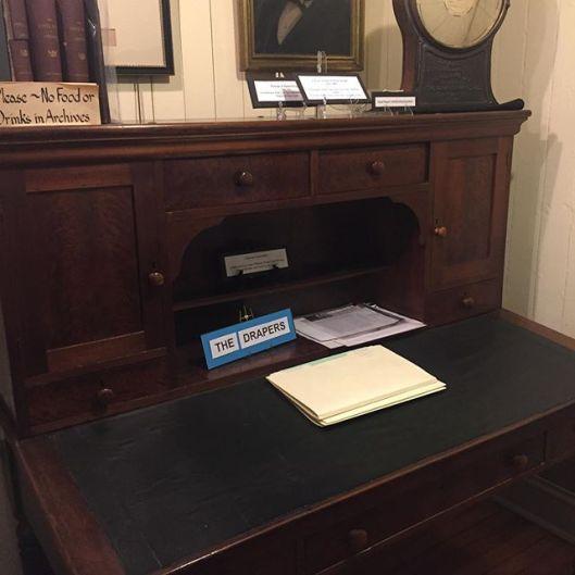 draper family desk