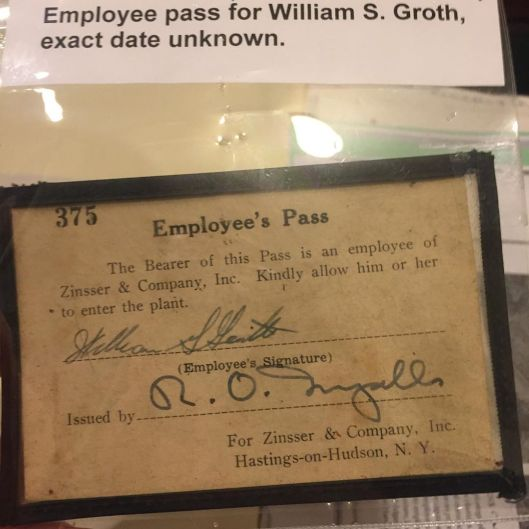 zinsser company employee id