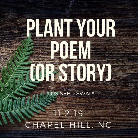 plant your poem workshop
