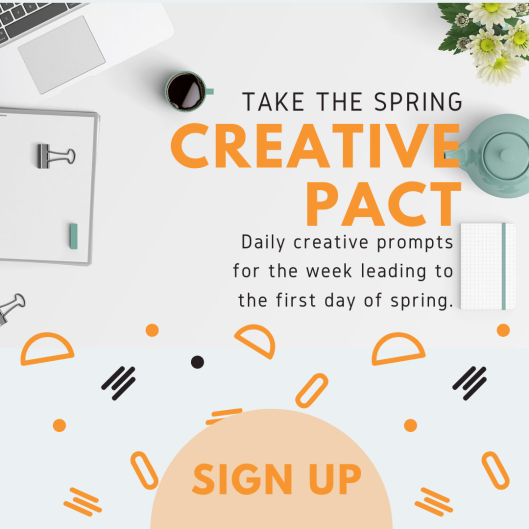 creative prompt sign up