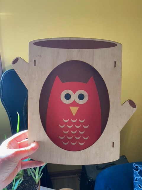 cartoon owl decoration