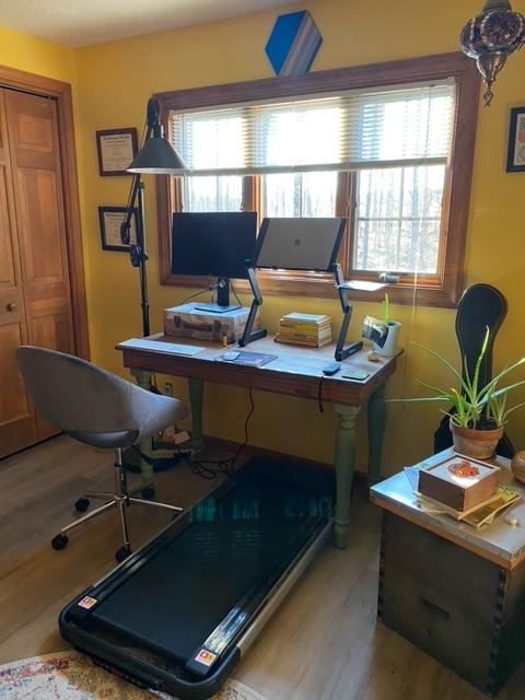 treadmill under desk